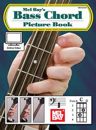 Mel Bay's Bass Chord Picture Book (with Online Video)
