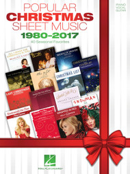 Popular Christmas Sheet Music 1980-2017 - Piano/Vocal/Guitar Songbook