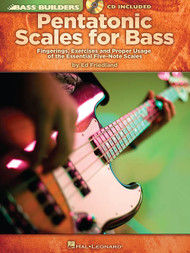 Bass Builders - Pentatonic Scales for Bass (with Audio Access) by Ed Friedland