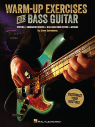 Warm-Up Exercises for Bass Guitar by Steve Gorenberg