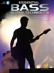 Essential Bass Guitar Techniques (with Audio Access) by Chris Kringel