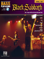 Black Sabbath -- Hal Leonard Bass Play-Along Volume 26 (Book/CD Set)