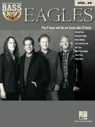 Eagles -- Hal Leonard Bass Play-Along Volume 49 (Book/CD Set)