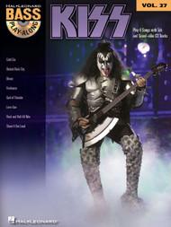 KISS -- Hal Leonard Bass Play-Along Volume 27 (Book/CD Set)
