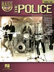 The Police -- Hal Leonard Bass Play-Along Volume 20 (Book/CD Set)