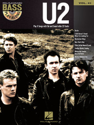 U2 -- Hal Leonard Bass Play-Along Volume 41 (Book/CD Set)