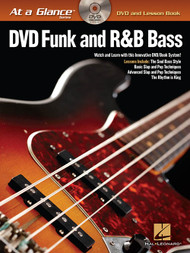 At a Glance Series - DVD Funk and R&B Bass (Book/DVD Set)