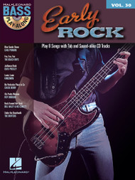 Early Rock -- Hal Leonard Bass Play-Along Volume 30 (Book/CD Set)