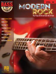 Modern Rock -- Hal Leonard Bass Play-Along Volume 14 (Book/CD Set)