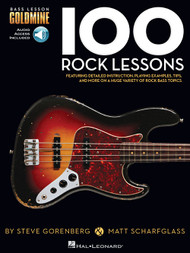 Bass Lesson Goldmine: 100 Rock Lessons (with Audio Access)