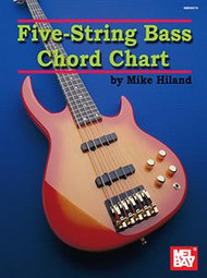 Five-String Bass Chord Chart by Mike Hiland