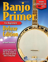 Banjo Primer for Beginners, Deluxe Edition (Book/DVD/CD Set) by Geoff Hohwald