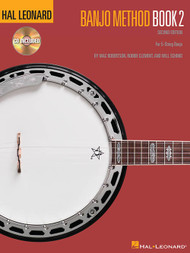 Hal Leonard Banjo Method, Book 2 - 2nd Edition (Book/CD Set) by Mac Robertson, Robbie Clement & Will Schmid