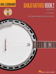 Hal Leonard Banjo Method, Book 2 - 2nd Edition (Book/CD Set) by Mac Robertson, Robbie Clement & Will Schmid