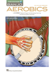 Banjo Aerobics (with Audio Access) by Michael Bremer