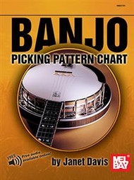 Banjo Picking Pattern Chart (with Online Audio) by Janet Davis