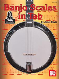 Banjo Scales in Tab (with Online Audio) by Janet Davis