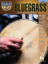 Bluegrass -- Hal Leonard Banjo Play-Along Volume 1 (Book/CD Set)