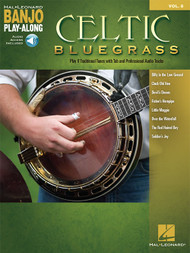 Celtic Bluegrass -- Hal Leonard Banjo Play-Along Volume 8 (with Audio Access)