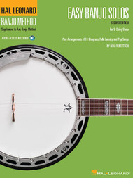 Hal Leonard Banjo Method - Easy Banjo Solos, 2nd Edition (with Audio Access)