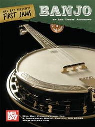 "First Jams: Banjo (Book/CD Set) by Lee ""Drew"" Andrews"