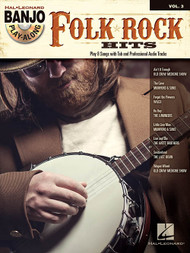 Folk Rock Hits -- Hal Leonard Banjo Play-Along Volume 3 (Book/CD Set)