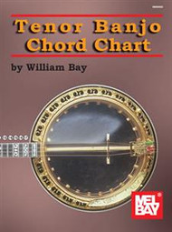 Tenor Banjo Chord Chart by William Bay