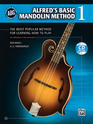 Alfred's Basic Mandolin Method, Book 1 (Book/CD Set) by Ron Manus & L.C. Harnsberger