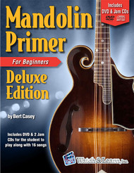 Mandolin Primer for Beginners, Deluxe Edition (Book/DVD/CD Set) by Bert Casey