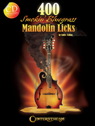 400 Smokin' Bluegrass Mandolin Licks (Book/CD Set) by Eddie Collins