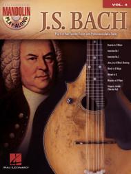 J.S. Bach -- Hal Leonard Mandolin Play-Along Volume 4 (Book/CD Set)