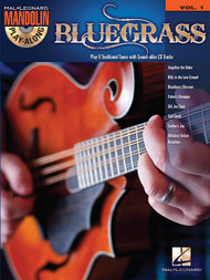 Bluegrass -- Hal Leonard Mandolin Play-Along Volume 1 (with Audio Access)