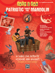 Just for Fun: Patriotic Songs for Mandolin in Easy Mandolin Tab Edition