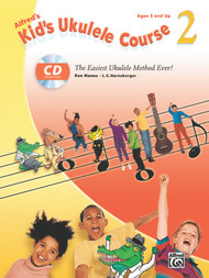Alfred's Kid's Ukulele Course, Book 2 (Book/Audio Set) by Ron Manus & L.C. Harnsberger
