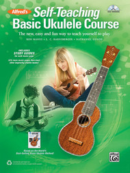 Alfred's Self-Teaching Basic Ukulele Course (Book/CD Set)