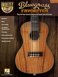 Bluegrass Favorites -- Hal Leonard Ukulele Play-Along Volume 12 (Book/CD Set)