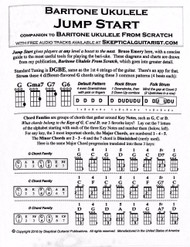 Baritone Ukulele Jump Start: Companion to Baritone Ukulele From Scratch