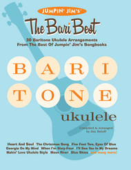 Jumpin' Jim's: The Bari Best for Baritone Ukulele by Jim Beloff