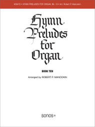 Hymn Preludes for Organ - Book 10 (Christmas)
