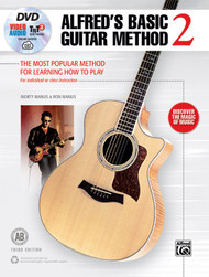 Alfred's Basic Guitar Method - Book 2 w/DVD