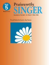 Praiseworthy Singer Vol. 5 - Expressions of the Spirit (Medium Voice)