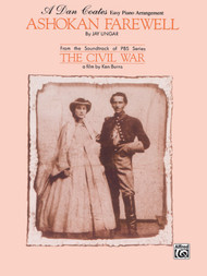 Ashokan Farewell (From the Civil War) - Easy Piano Solo Sheet Music