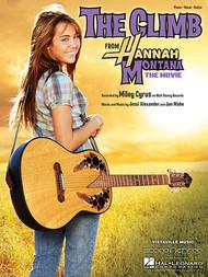The Climb from Hannah Montana - Piano/Vocal/Guitar