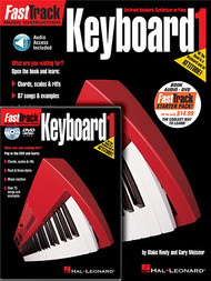 FastTrack Keyboard Method - Book 1 w/DVD