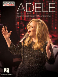 Adele Original Keys for Singers - Piano/Vocal Songbook