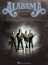 Alabama Anthology - Piano/Vocal/Guitar Songbook