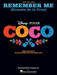 Remember Me (from Coco) - Piano/Vocal/Guitar