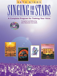 Singing for the Stars (A Complete Program for Training your Voice) by Seth Riggs - Book & 2 CDs
