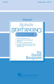 The Jenson Sight Singing Course Vol. I by David Bauguess (Student Edition)