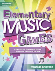 Reproducible Elementary Music Games (Grades 3-6)
